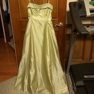 XL gorgeous ballgown, looks better than picture